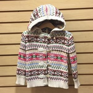 Other - Sz 3 Girl Hooded Sweater